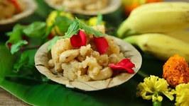 Prasadacha Sheera Recipe / Suji Halwa for Auspicious Occasion / Ganesh Chaturthi Special / Varun