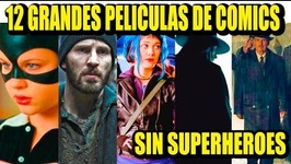 12 BEST COMIC BOOK MOVIES (without superheroes)  Los 12 Más