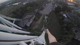 CLIMBING STEALTH AT THORPE PARK