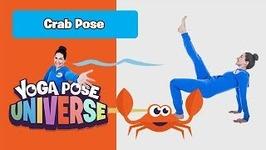Crab Pose - Yoga Pose Universe