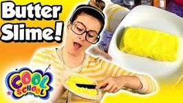 How To Make Butter Slime - DIY Butter Slime - Easy Slime Recipe - Arts and Crafts With Crafty Carol