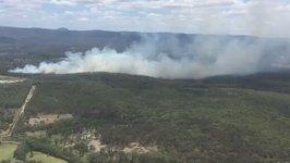 Fuel Tanker Explosion Sparks M1 Highway Bushfire