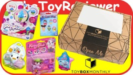 February 2017 Girls Toy Box Monthly Subscription Box Unboxing Toy Review