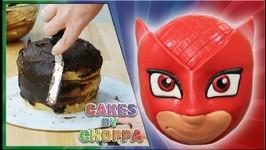 Owlette Cake - PJ Masks - How To