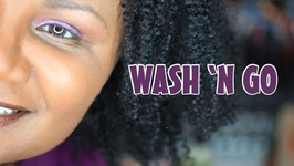 Wash n Go with Miss Jessie's Curly Pudding - Face of The Day