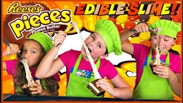 Learn How To Make Edible Reese's Slime - Diy