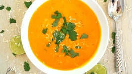 Soup Recipe-Thai Style Sweet Potato Soup