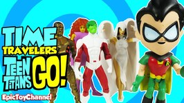 Teen Titans Go Parody Time Traveling Teen Titans With Old School Teen Titans