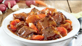 Beef and Bourbon Stew - Slow Cooker