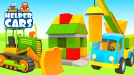 Kids Cartoons- Crane and Dump Truck