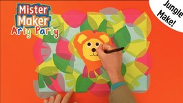 Leafy Jungle Make - Arty Party - Mister Maker