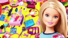100 DIY Miniature Barbie Dollhouse Lifehacks