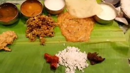 Famous Nandas Andhra Style Dinner On Banana Leaf Southern