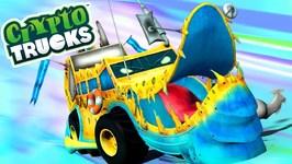 Ness Seal - Cryptotrucks - Monster Trucks For Children - Cartoon Videos For Toddlers