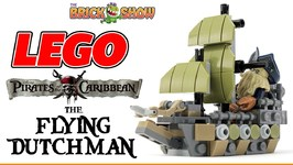 Lego The Flying Dutchman Microfighters Style MOC Pirates Of The Caribbean