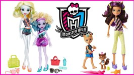 Monster High Family Dolls Clawdeen and Lagoona Doll Review