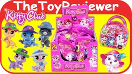Kitty Club Foil Blind Bags Full Case Box Surprise Mystery Pack Unboxing Toy Review