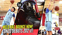 Lamelo Ball Dunking With Ease Now And Lonzo Debuts His Zo2 Shoes In Public