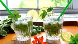 Non Alcoholic Mojito Cocktail