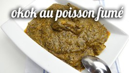 Okok Au Poisson Fumé ( Sucré Ou Salé)