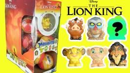 Disney The Lion King (2019) Movie Mashems FULL BOX Opening! Simba, Scar, Pumba, Nala Squish Toys