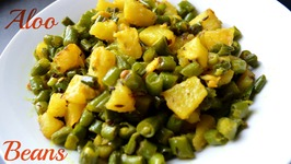 Green Beans And Potato (Aloo Faliyan) Sabzi Recipe