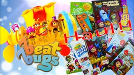 Netflix Beat Bugs Toys Haul - Beatles Musical Submarine And Books With Songs Toy Review
