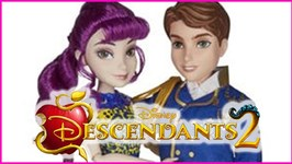 Descendants 2 Movie King Ben and Mal Isle of the Lost 2 Pk Doll Review