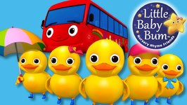 Little Baby Bum - Five Little Ducks on a Bus - Nursery Rhymes for Babies - Songs for Kids