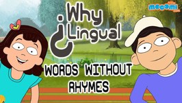 What Rhymes With Orange, Silver, Purple, And Month? - English Lessons - Kids Education