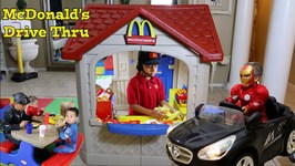 McDONALD'S DRIVE THRU for SUPERHEROES