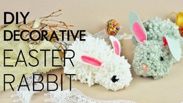 Diy Decorative Easter Rabbit Video By Troomtroom Fawesome Tv