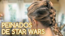 Cómo hacer 3 peinados de Star Wars en 5 minutos
