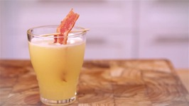 Bacon-Infused Vodka Breakfast Shots