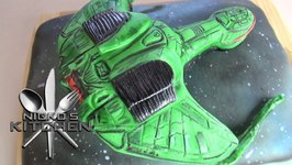 Klingon Bird Of Prey Cake
