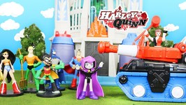 Teen Titans Go And Justice League Transformed By Harley Quinn Into Hero World By Funko Exclusivess