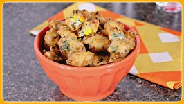 Corn Fritters - Easy Indian Snack