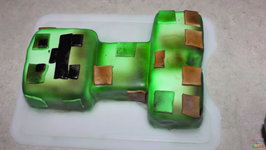 Minecraft Creeper Cake (How To)