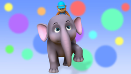 Elle the Elephant- Children's Popular Nursery Rhymes
