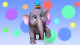 Elle the Elephant- Children's Popular Nursery Rhymes