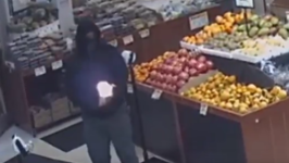 NYPD Seeks Suspect After Molotov Cocktail Thrown Into Grocery Store