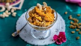Gajar Ka Halwa - Diwali Special - How To Make Gajar Halwa - Indian Dessert
