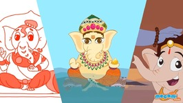 Lord Ganesha Story Videos For Kids - Kids Education By Mocomi