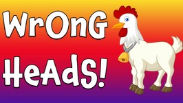 Wrong Heads! Farm Animal Matching Game for Kids