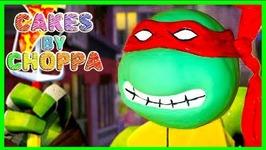 Raphael Cake - Ninja Turtles - Tmnt (How To)