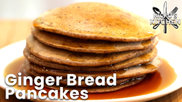 Ginger Bread Pancakes / Keto And Vegan Friendly And Dairy Free
