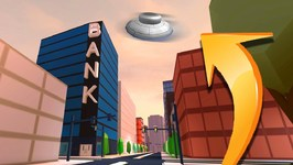 FLYING UFO IN JAILBREAK! - ALIEN UPDATE - Roblox