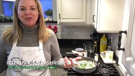 Citrus Kissed Shrimp & Spinach a Lean and Green Recipe