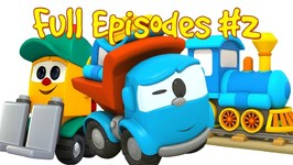 Leo the Truck Full Episodes 2- Car cartoon and Truck cartoon - Leo truck cartoon- Car animation.