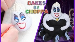 Ursula Cake - The Little Mermaid (How To)